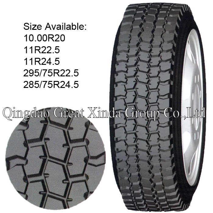 Truck & Bus Tire Pattern No. ST906