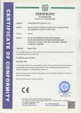 EMC Certificate Of Inverter