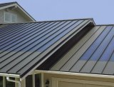 Thin film flexible solar panel install on Metal roof sheets
