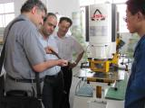 India clients inspect our machine in JSL factory