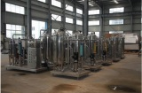 Water processing machinery workshop