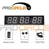 Crossfit Gym Use Six Digits Digital Timer (PC-DT1001)
