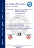 GTJZ series self-propelled scissor lift CE certification