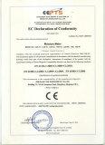 EC declaration of conformity of moistrue meter