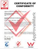 Watermark Certificate of Faucet