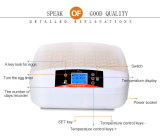 Newly designed LED light egg candle automatic 56 egg incubator YZ-56S