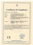 Certificate LED flood light CE EMC