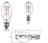 UPS-PROTECTED METAL HALIDE LAMP
