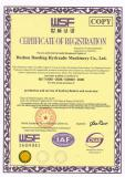 ISO9001 Certificate of Lighting