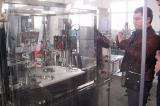 Uzbekistan Customer Check Eye-Drop Filling Line