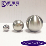 RoHS 0.35 to 200 mm Low Carbon Steel Balls Brushed Brushed Stainless Steel Hollow Sphere