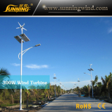 Wind Solar Street Light in Hainan