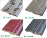 Colorful Wall baseboard TDF80