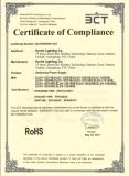 Rohs certifcate