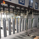 advanced equipment and powder for painting seamless steel gas cylinder