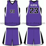 quick dry cusom polyester basketball uniforms for team