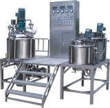 Vacuum Emulsifying Mixer for Biopharmaceutical Industry