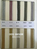 Zipper vacuum coating