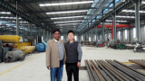Bangladesh Cutomer for pyrolysis plants visiting our factory