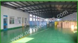 the production workshop of nonwoven fabric factory