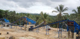 150t/h basalt crushing production line applied in Sri Lanka