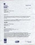 CR certificate