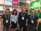Taken pictures with our customers at Canton Fair
