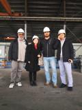 Customer for steel buildings