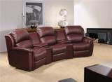 Genuine leather sofa 536A