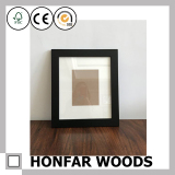 5/26 Black Wooden Photo Frame