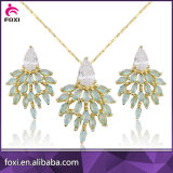 hot sale brazil style earring necklace jewelry set