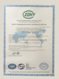ISO CERTIFICATE FOR STEEL PRODUCT