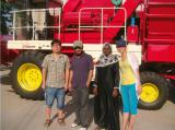 Tanzania client visting our factory