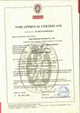 Type Approval Certificate