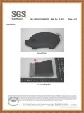 SGS Passed Report for PU Leather Keychain Wallet
