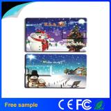 Christmas Gift Colorull Printing Plastic Card USB