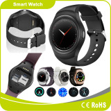 Mtk2502 Support Androind & iPhone Heart Rate Monitor Pedometer Smart Watch