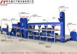 DH650 four sets process flow chart