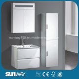 2016 Hot Sale Wall Mounted MDF Bathroom Cabinet with Mirror (SW-1512)