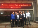 Customers from Germany visit our factory