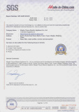 SGS Certificated Supplier