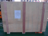 plywood package for sample delivery