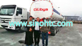Libya Clients purchasing fuel tank trailer