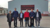 WITH OUR CLIENT AT OUR FACTORY