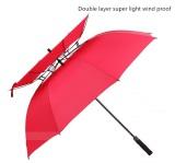 Double laver umbrella