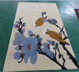 Handtufted wool rug