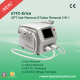 E11C Professional IPL epilation and Q-switch swicth tattoo removal