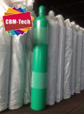 ISO9809-1 Standard 50 Liter Oxygen Cylinders With 10m3 O2