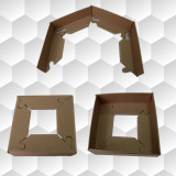 Edege board frame