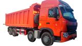 SINOTRUK HOWO-A7 8X4 Dump Truck